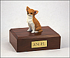 Chihuahua, Fawn Dog Figurine Cremation Urn