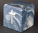 Regal Cross Marble Single Adult Cremation Urn