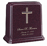 Tablet Cultured Granite Cremation Urn