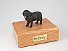 Newfoundland Dog Figurine Cremation Urn
