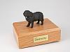 Newfoundland Dog Figurine Cremation Urn