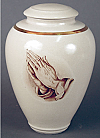 Porcelain Praying Hands Cremation Urn