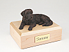 Saint Bernard, Bronze Dog Figurine Cremation Urn