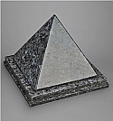 Blue Pearl Pyramid Single Cremation Urn