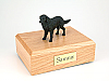 Flat Coated Retriever  Dog Figurine Cremation Urn