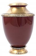 Auburn Artisan Brass Cremation Urn