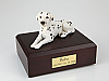Dalmatian White Black Spotted Dog Figurine Cremation Urn