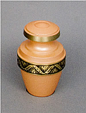 Apricot Brass Cremation Keepake