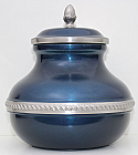 Pewter Blue Sierra Cremation Urn