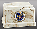 US Air Force Cultured Marble Cremation Urn