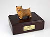 Norwich Terrier Dog Figurine Cremation Urn