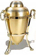 Single or Companion Brass Cremation Urn