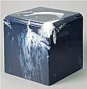 Regal Navy Cultured Marble Adult Cremation Urn
