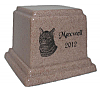 Granite Pet Cremation Urn - 14 Colors