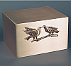 True Love Companion Bronze Cremation Urn