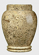 Adult Traditional Earth Marble Cremation Urn