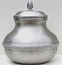 Pewter Sierra Cremation Urn