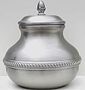 Pewter Sierra Cremation Urn