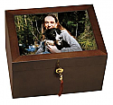Fidelis III Photo Chest Cremation Urn