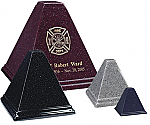 Pyramid Cultured Granite Urn - 4 sizes