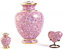 Rose Essence Cloisonne Cremation Urn