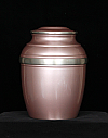 Pewter Mauve Rosa Cremation Urn