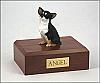 Chihuahua, Tri-Color Dog Figurine Cremation Urn