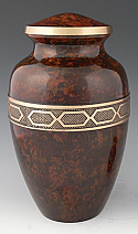 Legacy Adult Brass Cremation Urn