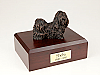 Shih Tzu, Bronze Dog Figurine Cremation Urn