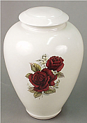 Tivoli III Porcelain Cremation Urn