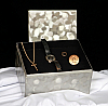 Pewter Summer Memory Chest Cremation Urn