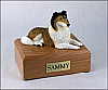 Collie, Sable  Dog Figurine Cremation Urn