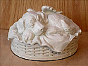 Angel Winged Dog Cremation Urn White