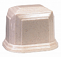 Small Millennium Cultured Granite Cremation Urn