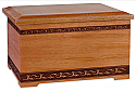 Majestic Mahogany Cremation Urn