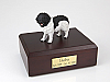 Landseer Dog Figurine Cremation Urn