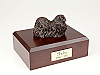 Pekingese, Bronze Dog Figurine Cremation Urn