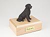 Labrador, Bronze, Long-haired Dog Figurine Cremation Urn