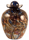 Bella Evening Glass Adult Cremation Urn