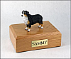Australian Shepherd, TriColor/docked Standing Dog Figurine Cremation Urn