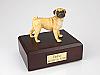 Pug Dog Figurine Cremation Urn