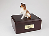 Collie, Paw Up  Dog Figurine Cremation Urn
