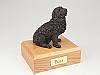 Newfoundland, Bronze Dog Figurine Cremation Urn