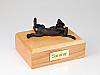 Bloodhound Bronze Laying Dog Figurine Cremation Urn