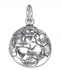 Soccer Ball Pendant Cremation Urn