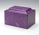 Cultured Marble Cremation Urn - Many Colors