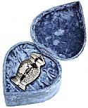 Silver Eagle Cremation Keepsake Urn