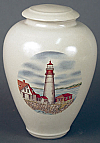Northern Lighthouse Cremation Urn