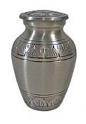 Athena Brass Keepsake Pewter Finish