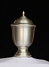 Small Pewter Aidan Cremation Urn